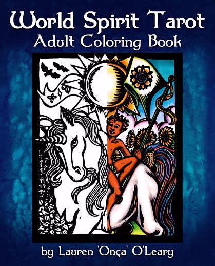 The World Spirit Tarot Adult Coloring Book