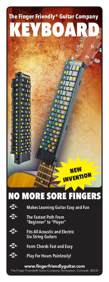 Finger Friendly Guitar Keyboard | Indiegogo