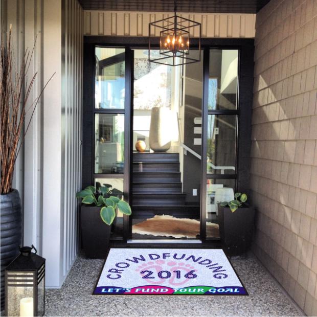 Crowdfunding Doormat