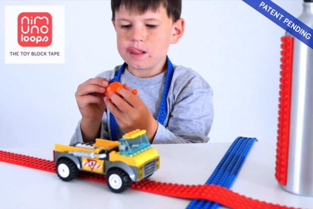 Nimuno Loops - The Original Toy Block Tape   Indiegogo