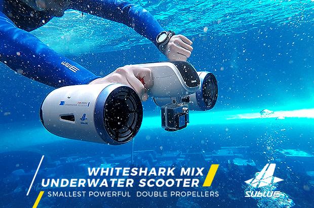Resultado de imagen de white shark scooter