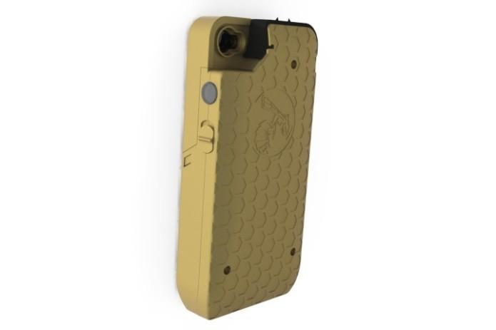 Yellow Jacket Stun Gun iPhone Case   Indiegogo