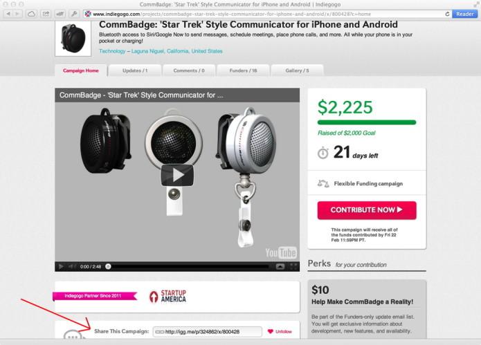 CommBadge: 'Star Trek' Inspired Communicator for iPhone & Android
