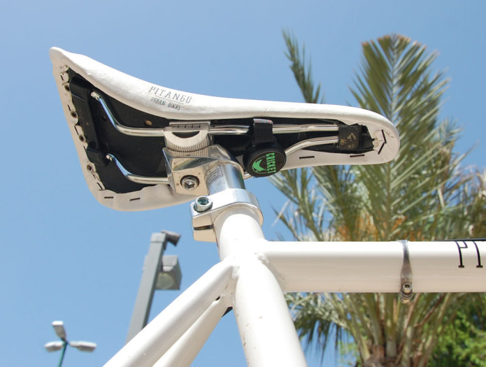 The Cricket - A new silent alarm, make bicycle theft a thing of the