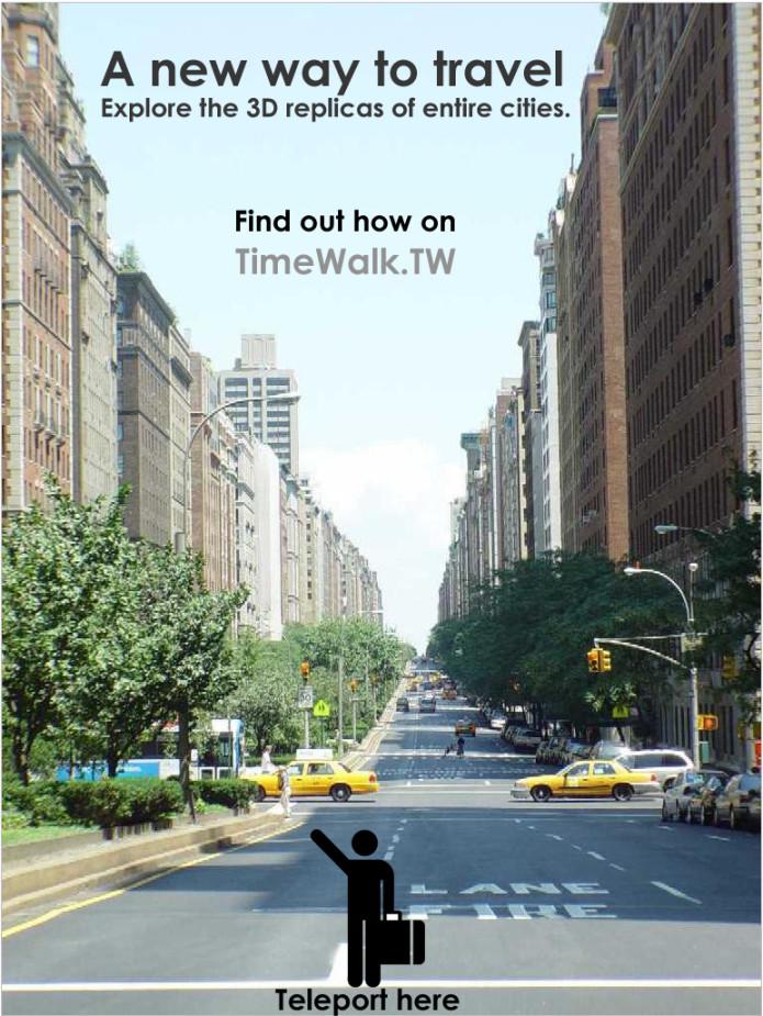 TimeWalk: Your Virtual Reality Playground | Indiegogo