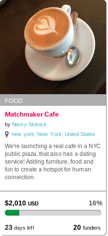 Coffee matchmakers