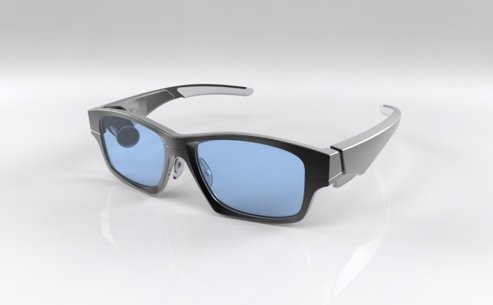 a778036383590 GlassUp  Augmented Reality glasses that display messages from your  smartphone