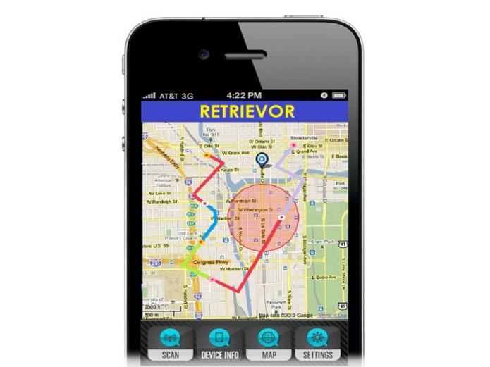 RETRIEVOR - Self-Charging GPS Tracking | Indiegogo