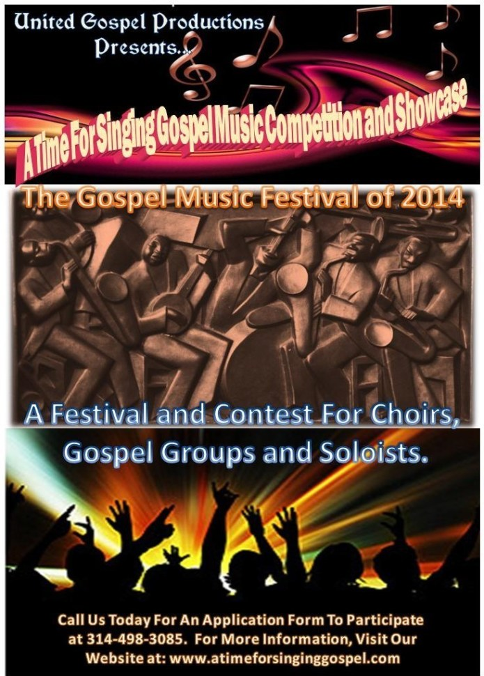 A Time for Singing Gospel Music Competition | Indiegogo