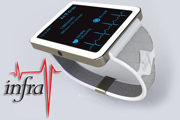 Glucose Monitoring Watch >> Infrav No Blood Glucose Vital Signs Monitor Watch Indiegogo