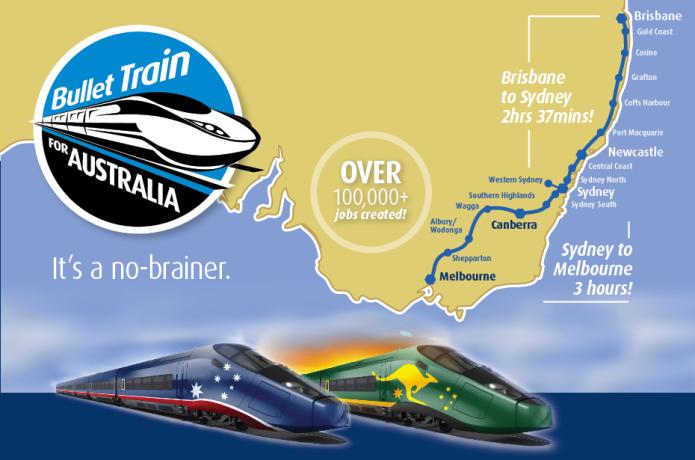 Bullet Train for Australia   Indiegogo