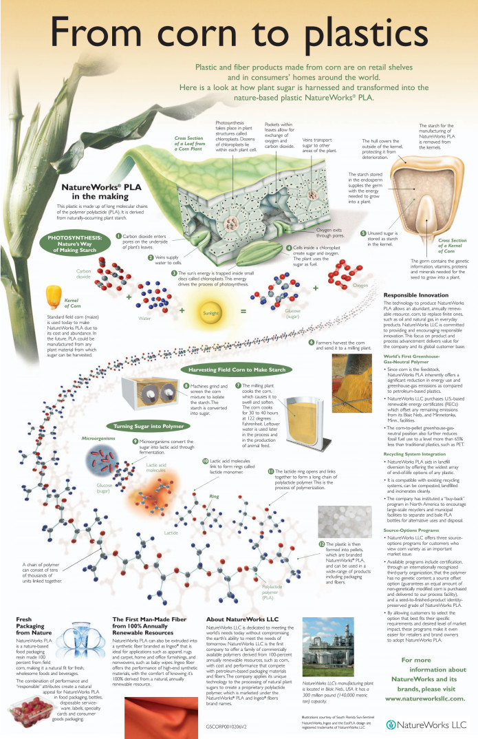 Better Plastic: Corn-Based Bioplastic Utensils | Indiegogo