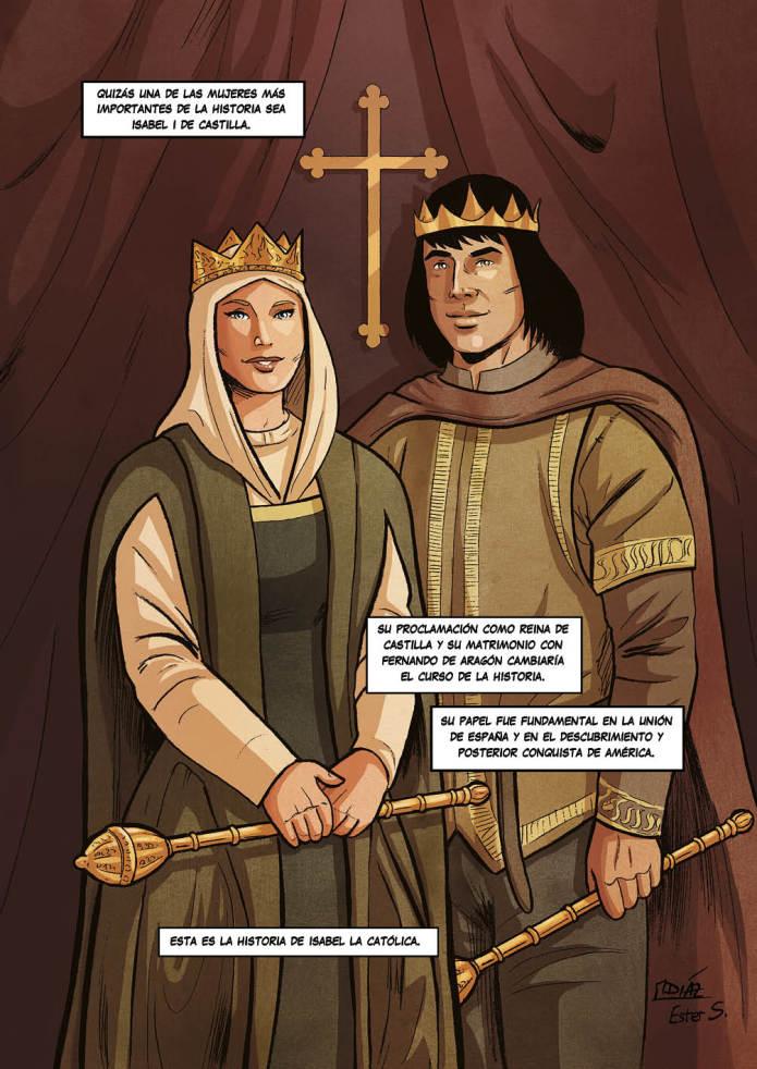 Matrimonio Catolico Dibujo : Cómic isabel la católica. indiegogo