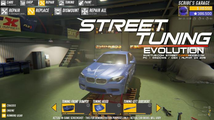 Street Tuning Evolution - Car Building & Racing | Indiegogo