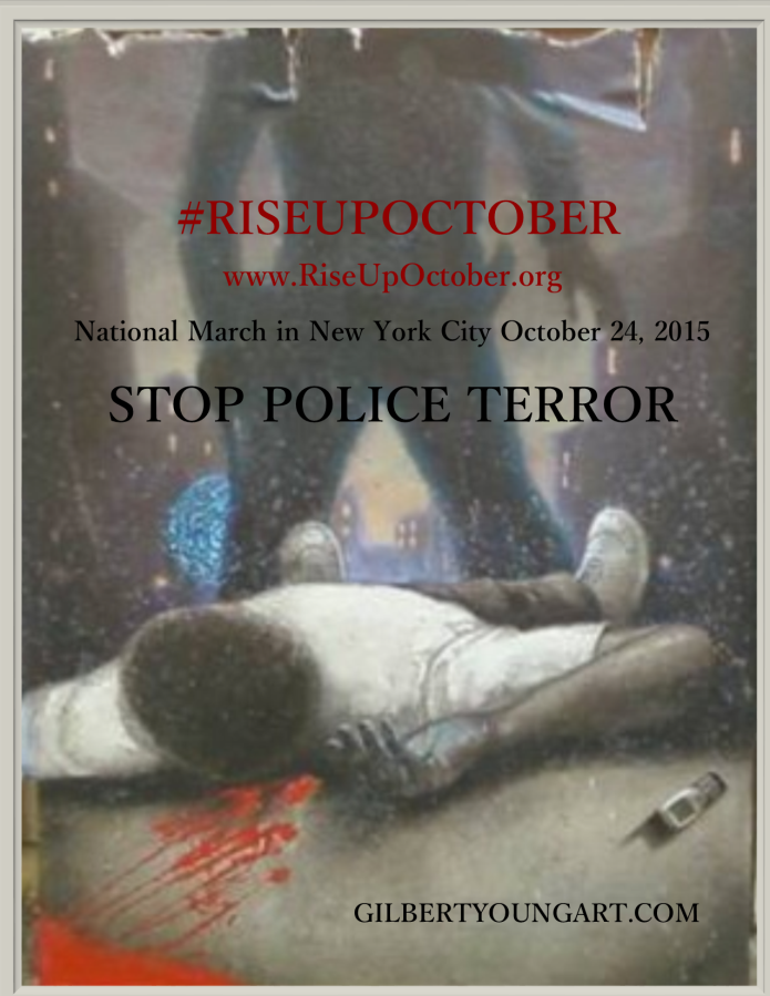 All Together Now Lets Fight Terrorism >> Riseupoctober Stop Police Terror Indiegogo