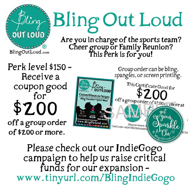 35333871 Bling Out Loud Apparel & Gifts Storefront   Indiegogo