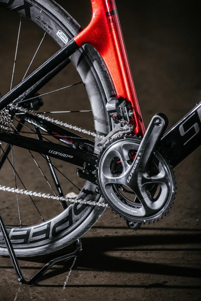 3135a6bae37 SpeedX Leopard - first ever smart aero road bike   Indiegogo