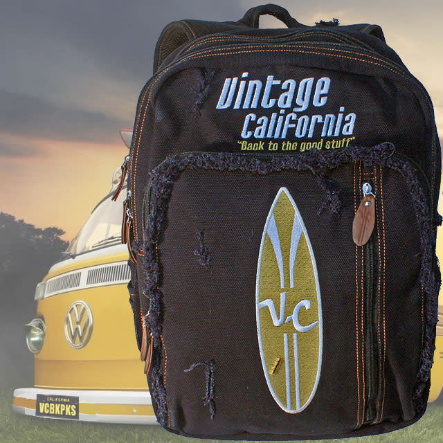 Vintage California Backpacks | Indiegogo