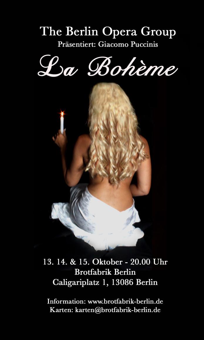 The Berlin Opera Groups La Boheme Indiegogo