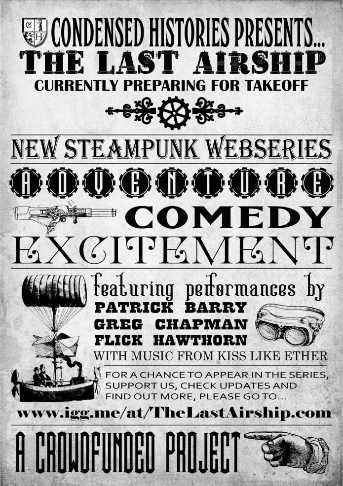 The Last Airship - Steampunk Webseries | Indiegogo