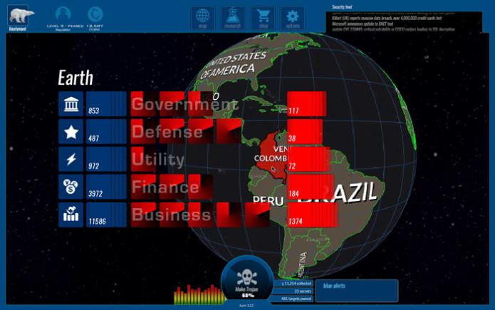 Trojan - a hacking strategy game   Indiegogo
