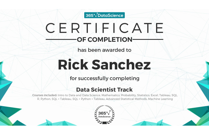 Data Science Certificate Worth It