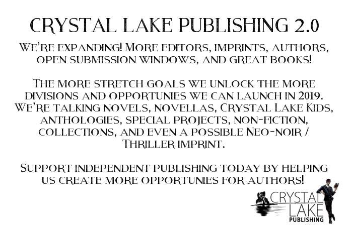 Crystal Lake Publishing 2 0! | Indiegogo