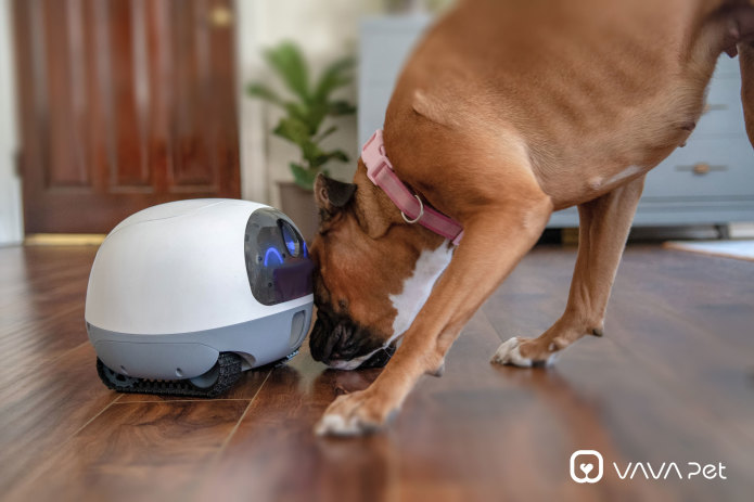 VAVA Mobile Pet Cam: Peace of Mind on Wheels   Indiegogo