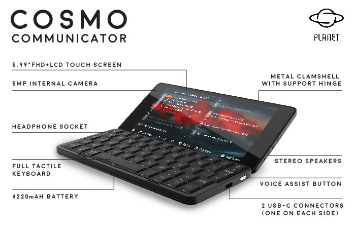 Cosmo Communicator | Indiegogo