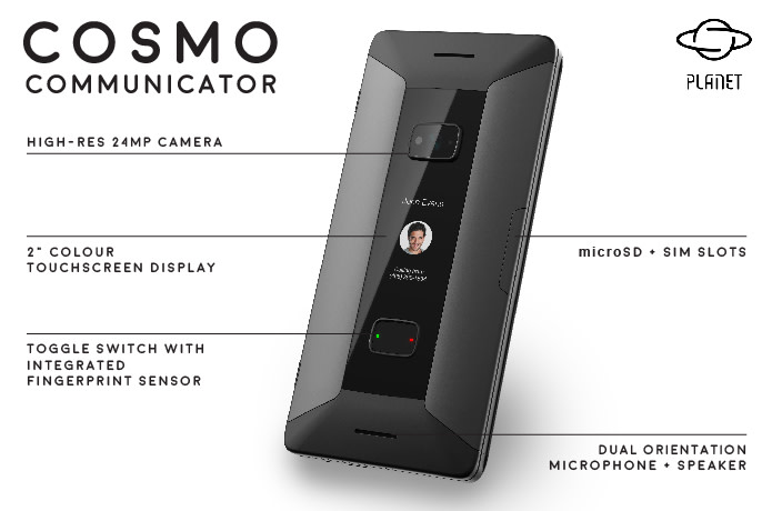 Cosmo Communicator | Indiegogo