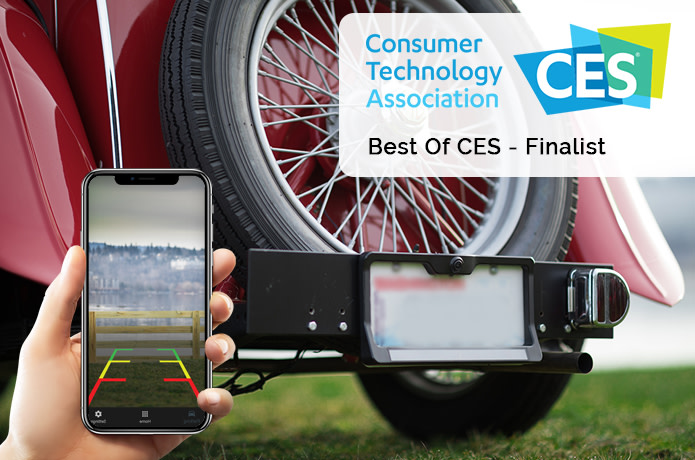 The Wireless Solar BackUp Camera That Never Dies   Indiegogo