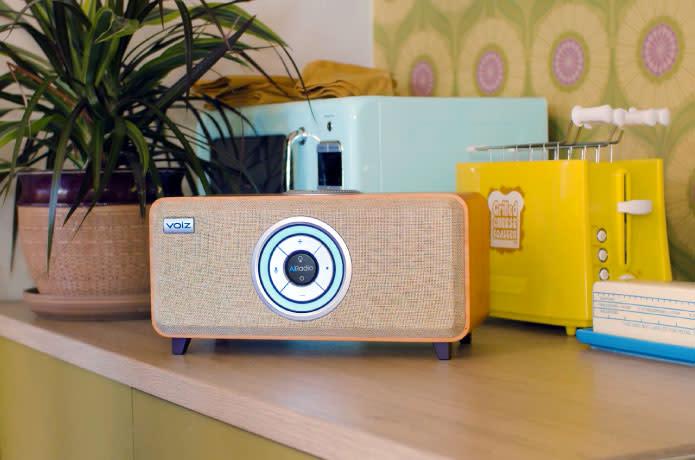 VOIZ: High Tech Meets Vintage - Smart WiFi Speaker   Indiegogo