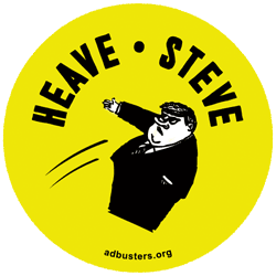 Give Steve the Heave, October 19