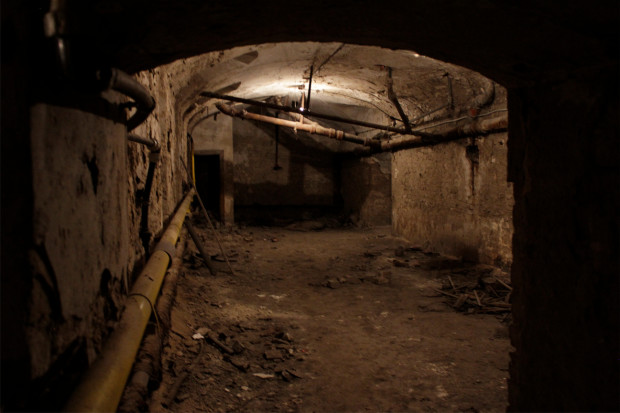 This Place Is In The Heart Of Budapest In A Very Good Neighborhood Isn T It  Funny It S Very Old Scary And Out Of Use For Three Decades THE BASEMENT  MOVIE ...