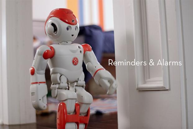 가족을 위한 휴머노이드 로봇 '알파 2'