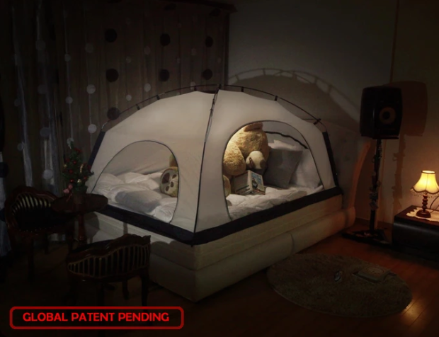 Room In Room Is An Indoor Tent, Designed To Conserve Heat And Make Your Bed  Warm And Comfortable During Winter. This Is Room In Room:
