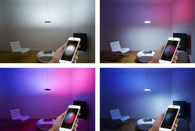 Mood Lighting by Fluxo: Select a color and paint the light into the desired directio