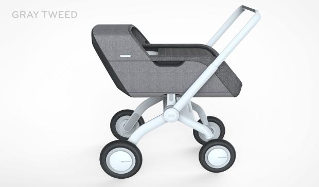 Smartbe intelligent stroller cochecito de bebé autopropulsado