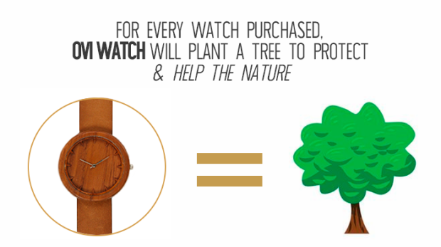 For every watch we plant tree