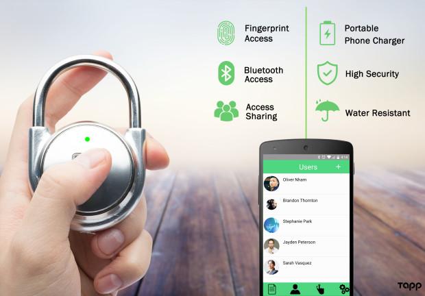App, Bluetooth, Impronta digitale