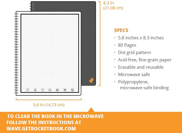 Rocketbook Wave Executive Version