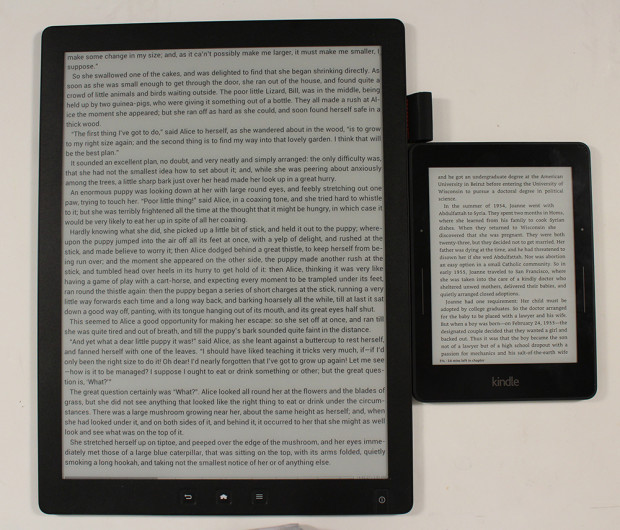 Good e reader has launched a 133 inch e reader on indiegogo the perfect size screen for e books fandeluxe Gallery
