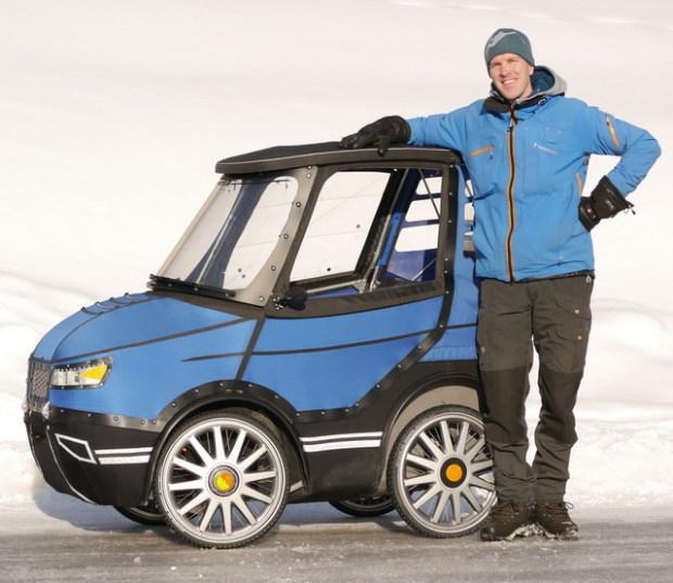 El sucesor del troncomovil parece un auto pero es una for Is a bicycle considered a motor vehicle