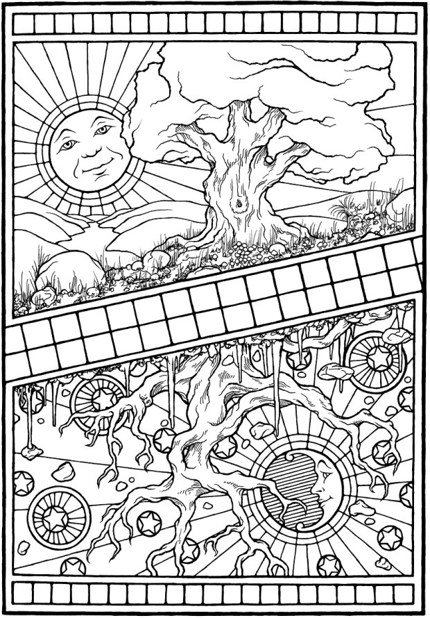 Animal Kingdom Colouring Book Chapters : Equinox a coloring book indiegogo