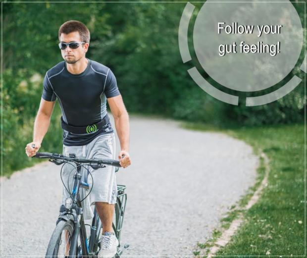 pictire: Follow your gut feeling