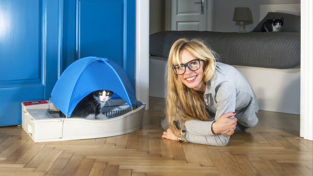smart kitty - automatic litter box for cats | indiegogo