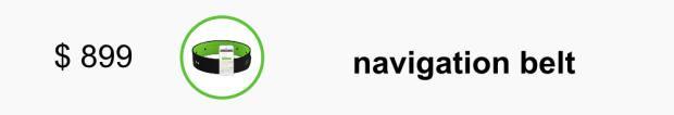 $ 899 - navigation belt