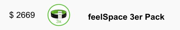 $ 2669 - feelSpace 3erPack
