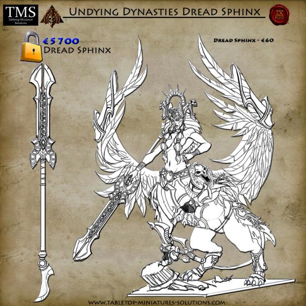 Nouvelles figurines des Dynasties Immortelles sur Indiegogo 7_Necro_sphinx_zrnbg7
