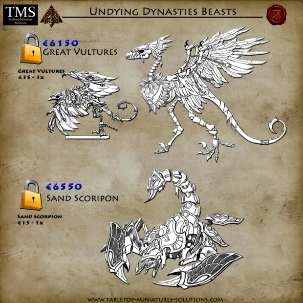 Nouvelles figurines des Dynasties Immortelles sur Indiegogo 8_beasts_lqwdho